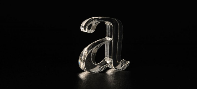Plastické písmo