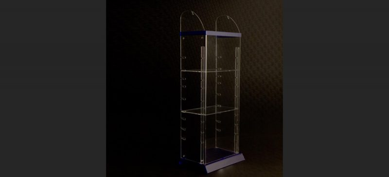 Výroba reklamních stojanů POP a POS z plastů