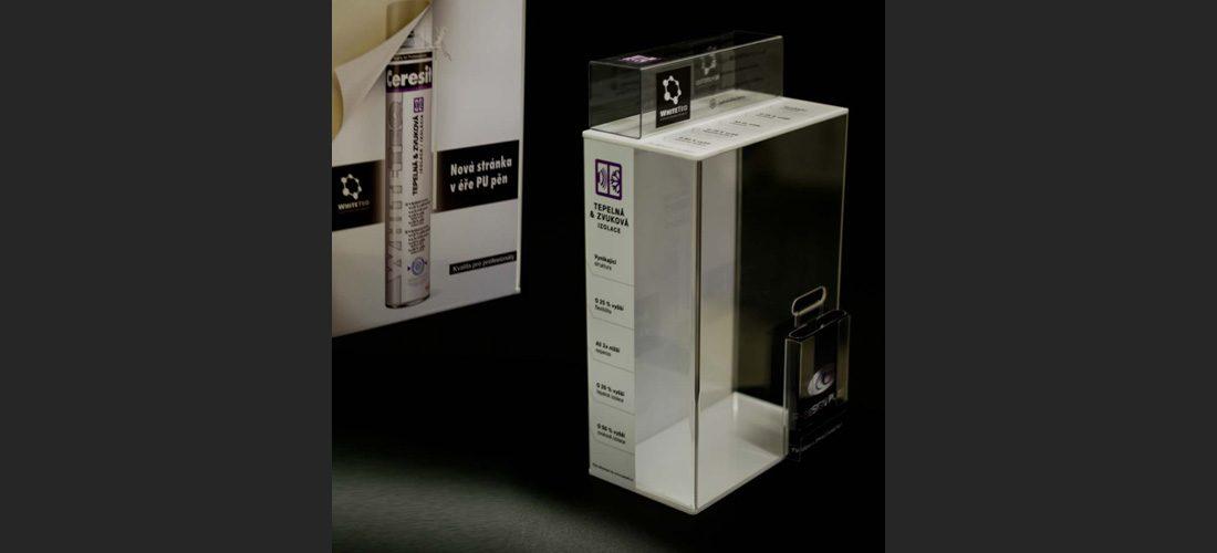 Prodejní stojánek 3 - výroba reklamních stojanů