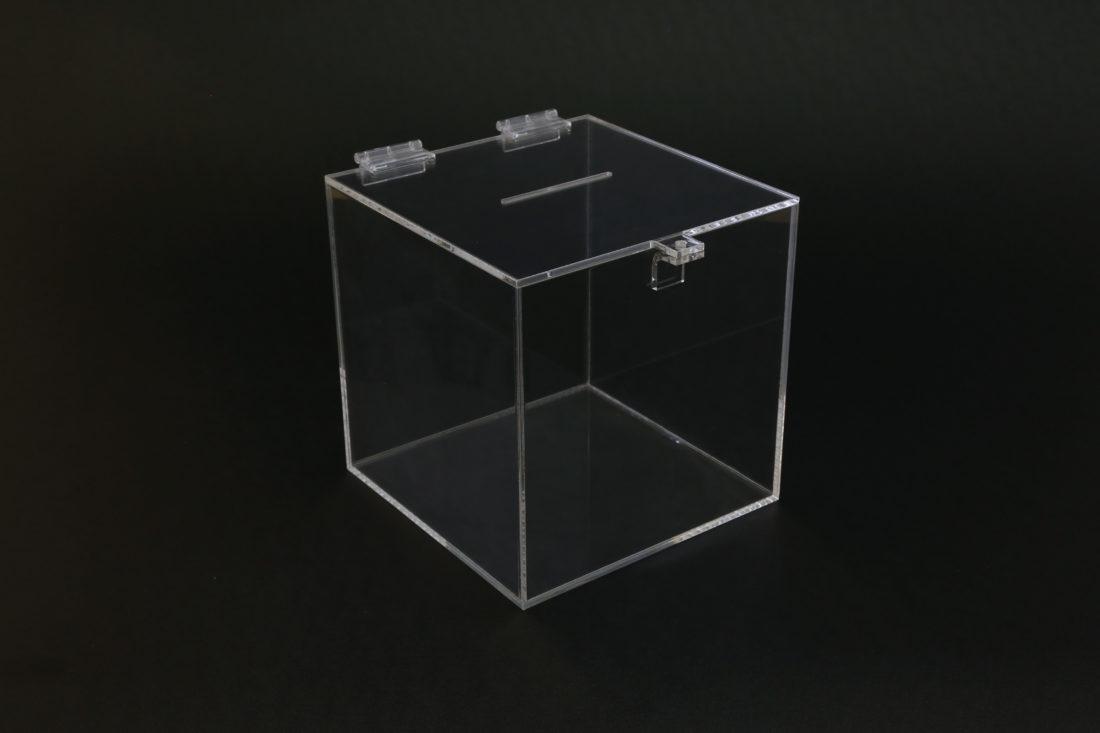 Plexisklové pokladničky - Plexisklové kasičky 3
